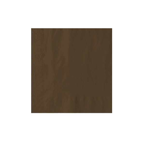 40cm 2-Ply Brown Napkin