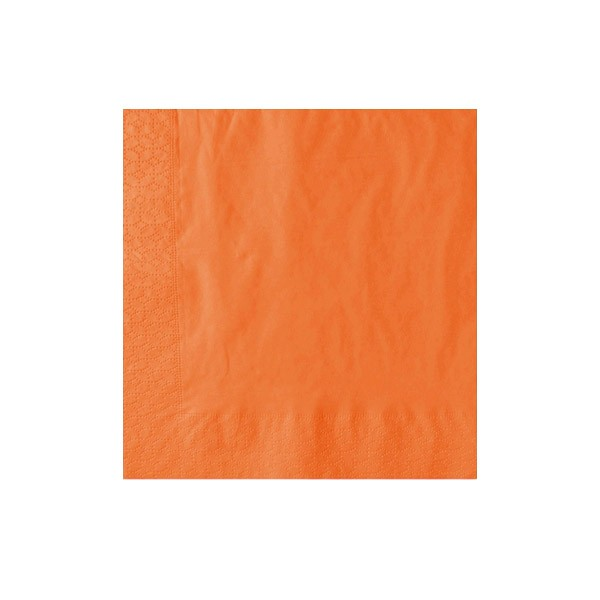 40cm 2-Ply Orange Napkin