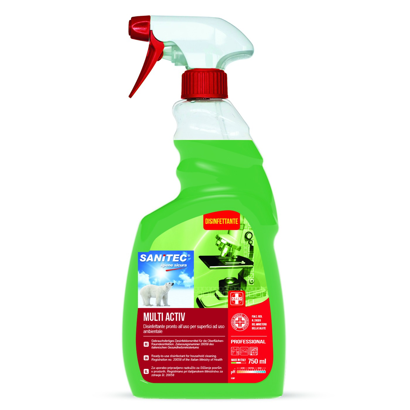 Multi Activ Disinfectant 750 ml