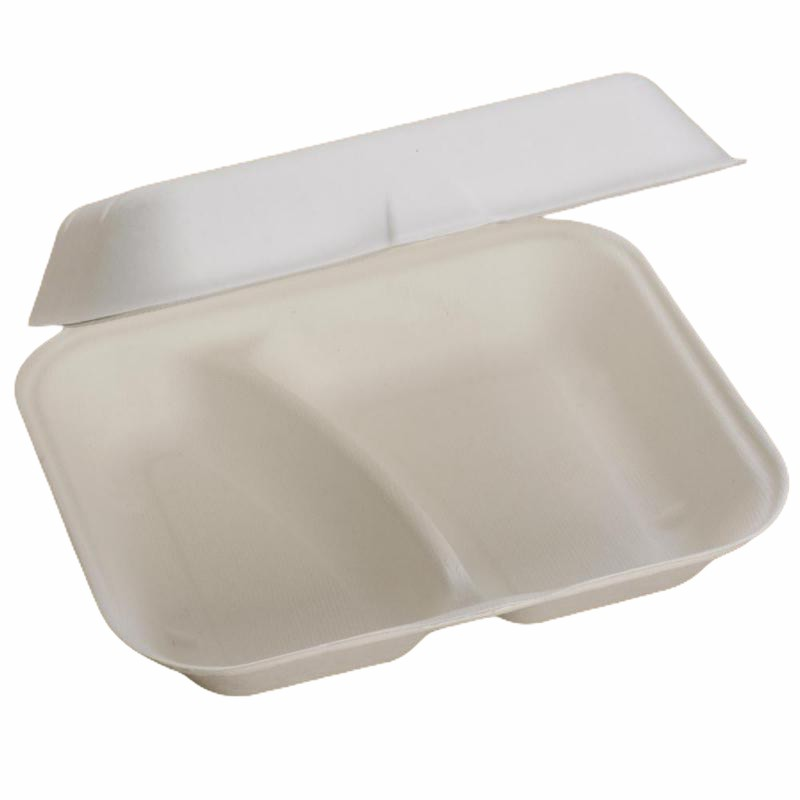 Food Box two compartments 23x19x7,5 cm