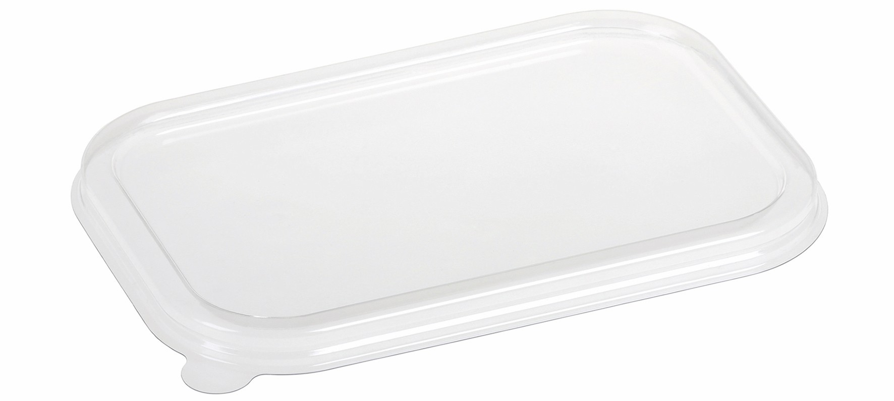 PLA lid for food tray 23x15 cm