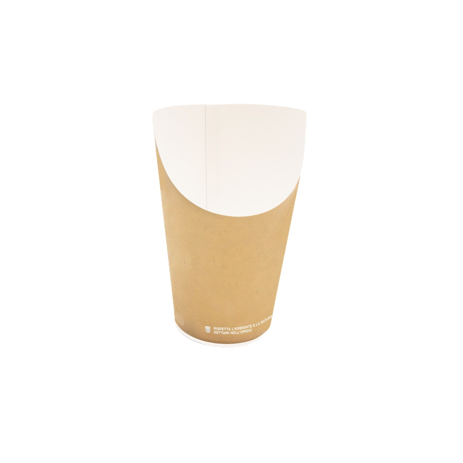 Bio fried food cup Small