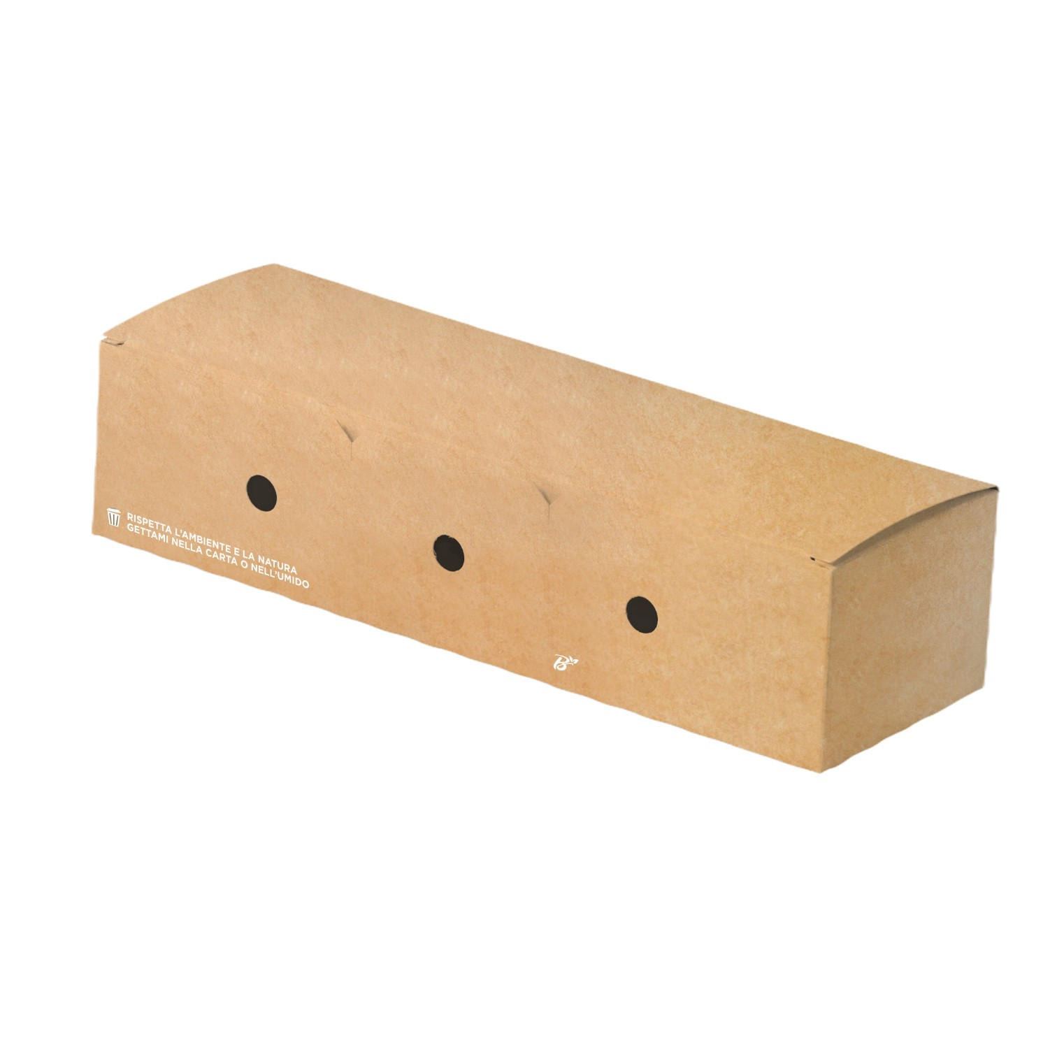 Bio Hot-Dog box 23x7x5 cm