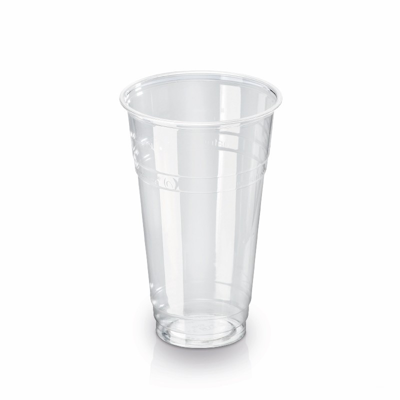 Transparent PLA cup 500 ml