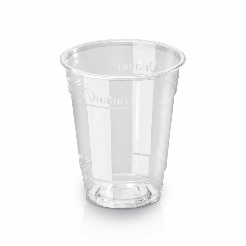 Transparent PLA cup 200 ml