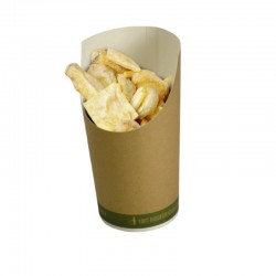 Bio fried food cup Medium