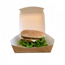 Bio hamburger box Medium