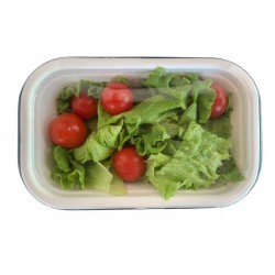 PLA lid for food tray 20x13 cm