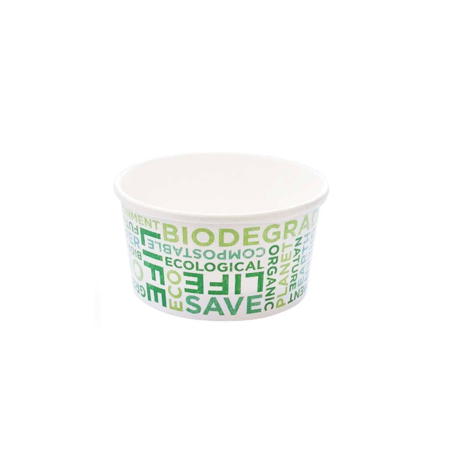 Ice-cream Text cup 155 ml