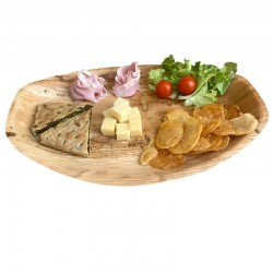 Oval serving tray 36x25 cm