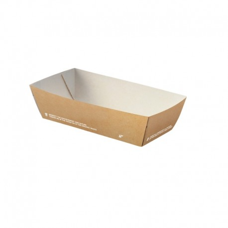 Bio tray for fried food, Medium