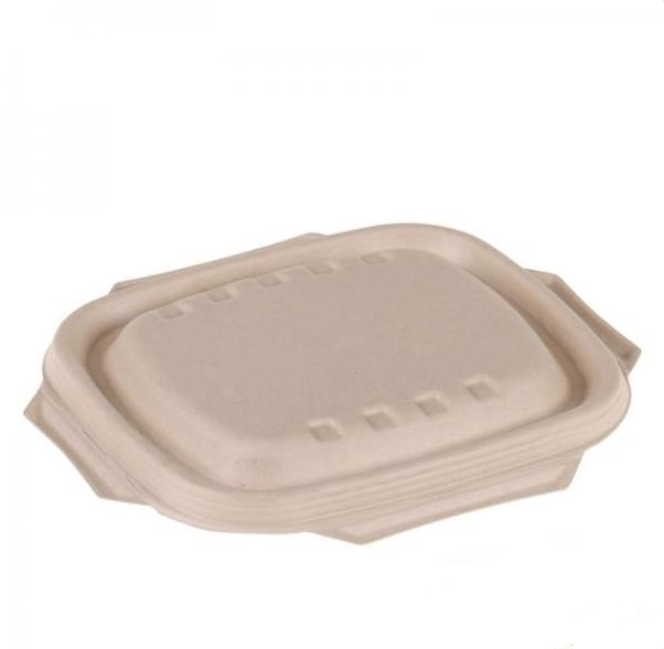 Rectangular Nature Sugar Cane Lid