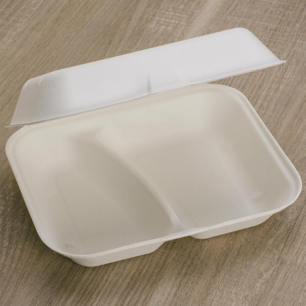 Food Box 2 compartments 23x19x7,5 cm